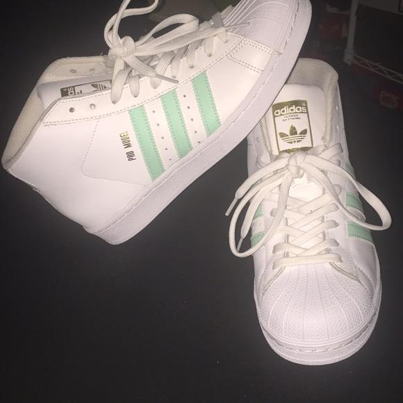 102cba6688210e adidas pro model sneakers NWOT